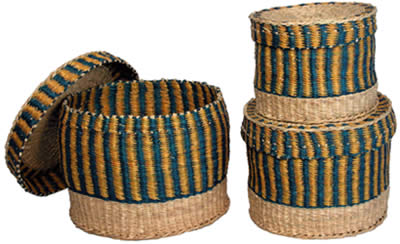 Nesting Baskets from Ghana