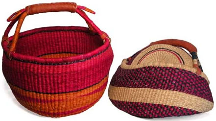 Baskets from Ghana