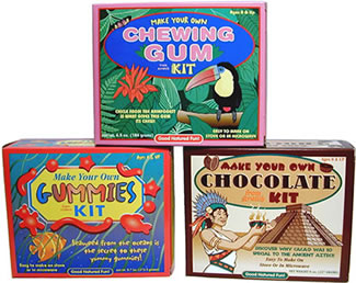 Make Your Own Chocolate, Gummies and Chewing Gum.