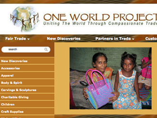 New One World Projects New Website
